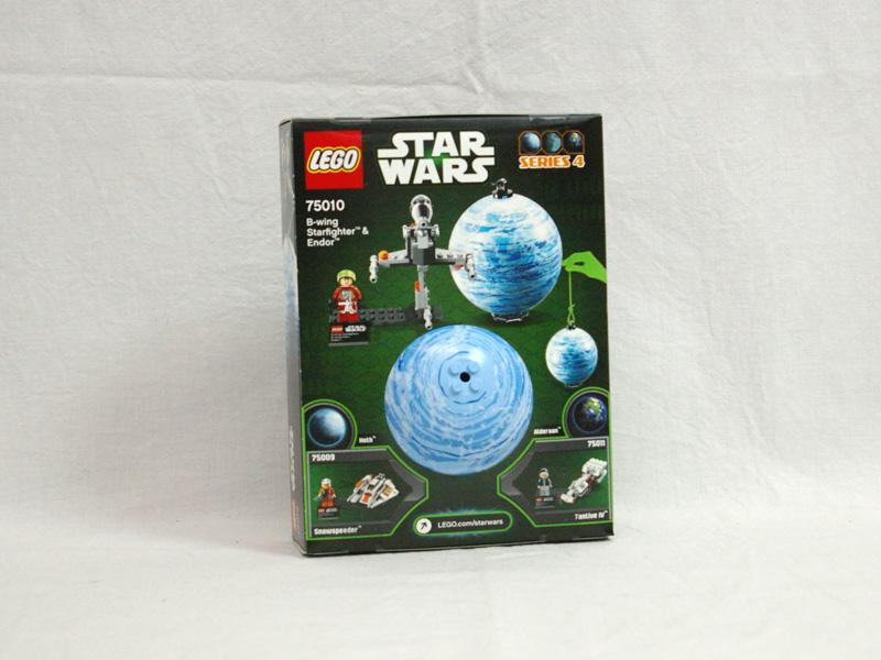 #75010 レゴ Bウイング・スターファイターとエンドア 背面の写真