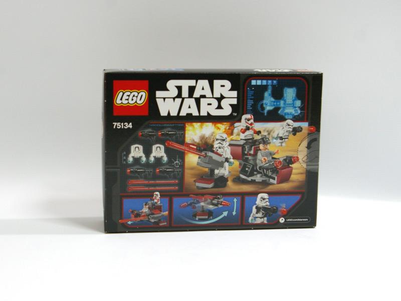 #75134 レゴ バトルパック 銀河帝国 背面の写真