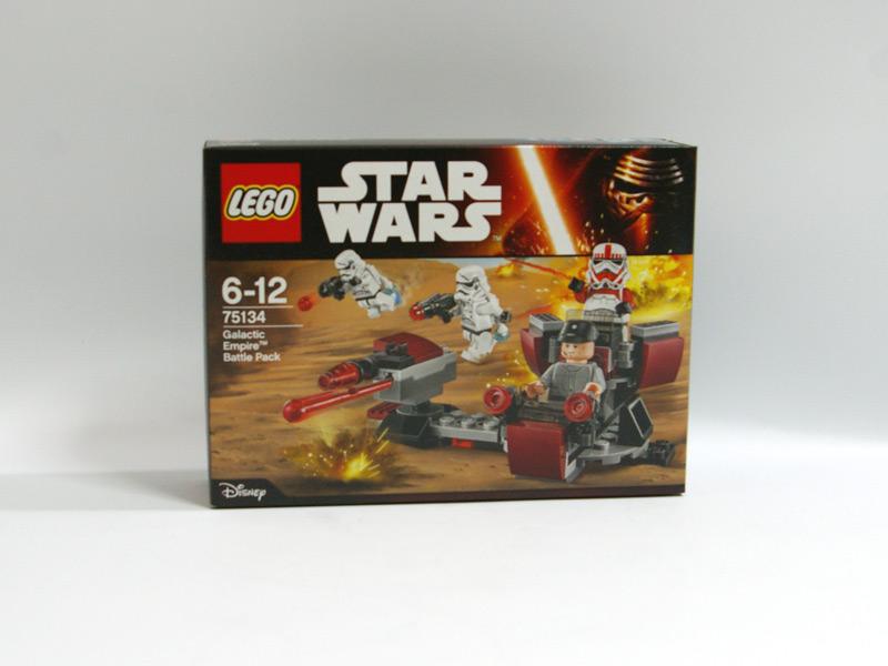 #75134 レゴ バトルパック 銀河帝国 正面の画像
