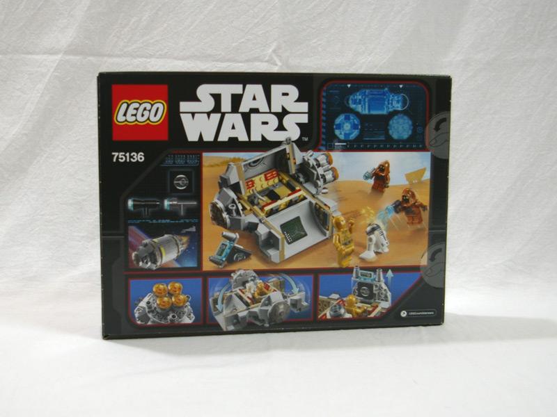 #75136 レゴ ドロイドの脱出ポッド 背面の写真
