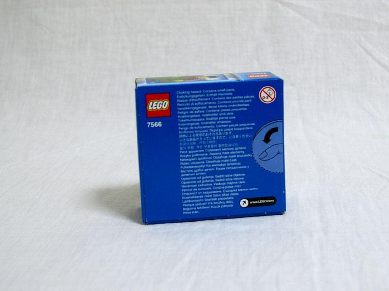#7566 レゴ 農夫 背面の写真