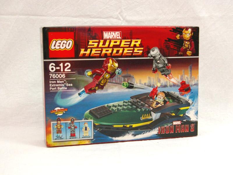 #76006 レゴ アイアンマン シーポート・バトル