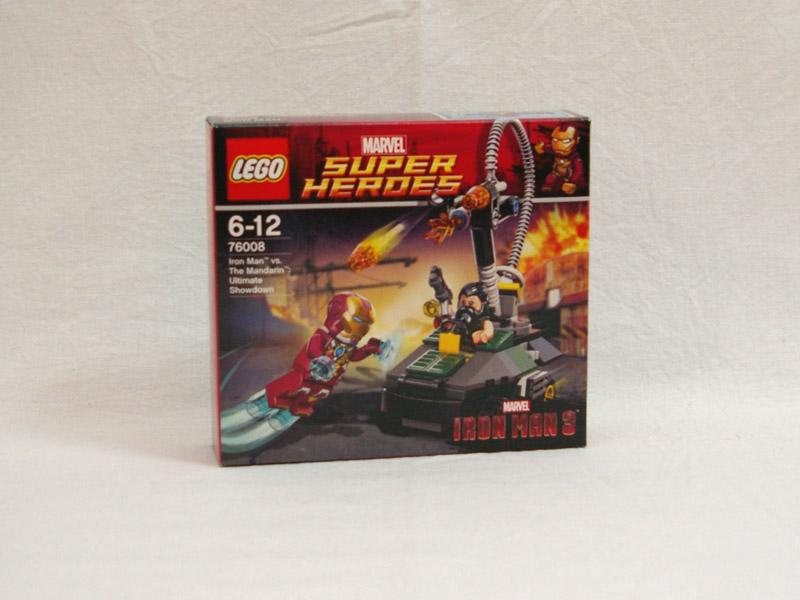 #76008 レゴ アイアンマン VS マンダリン 究極のショーダウン
