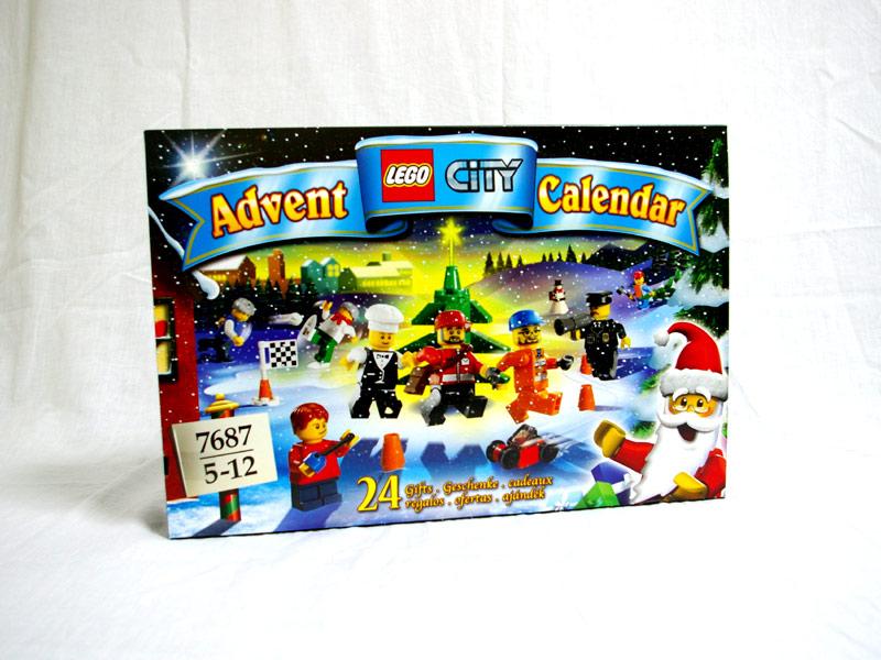 #7687 レゴ シティ アドベントカレンダー2009