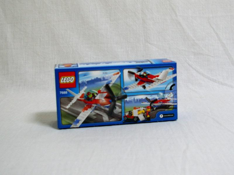 #7688 レゴ スポーツ・プレーン 背面の写真
