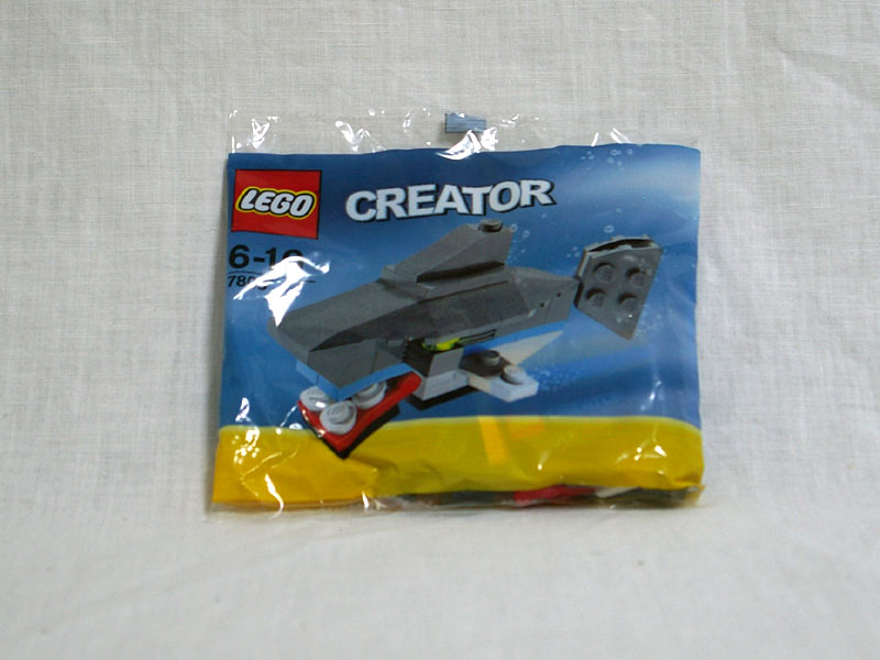 #7805 レゴ ミニサメ