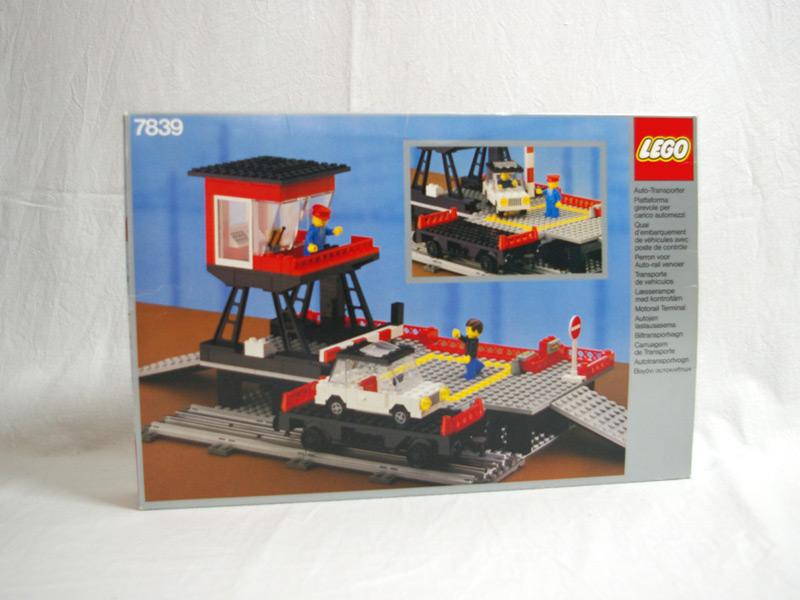 #7839 レゴ 車両登載所