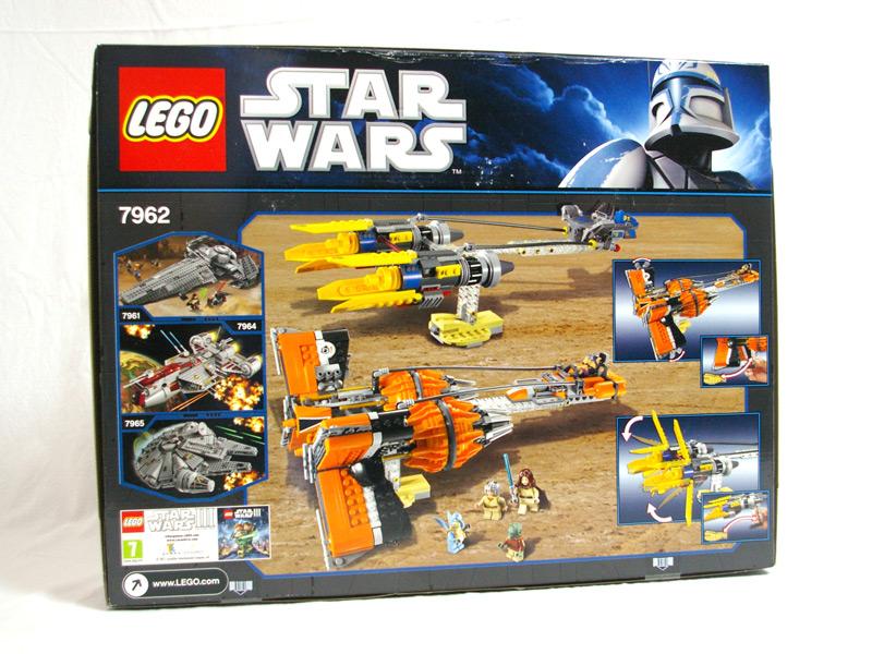 #7962 レゴ アナキンとセブルバのポッドレーサー 背面の写真