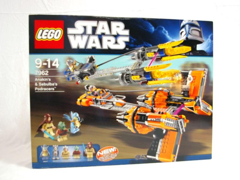 #7962 レゴ アナキンとセブルバのポッドレーサー 正面の画像
