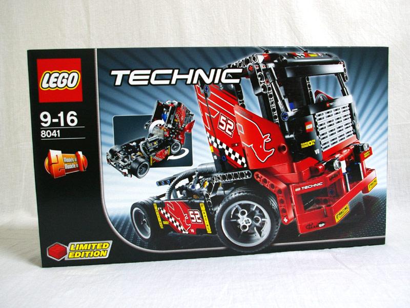 #8041 レゴ レーシングトラック