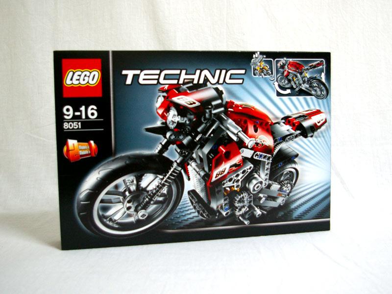 #8051 レゴ モーターバイク