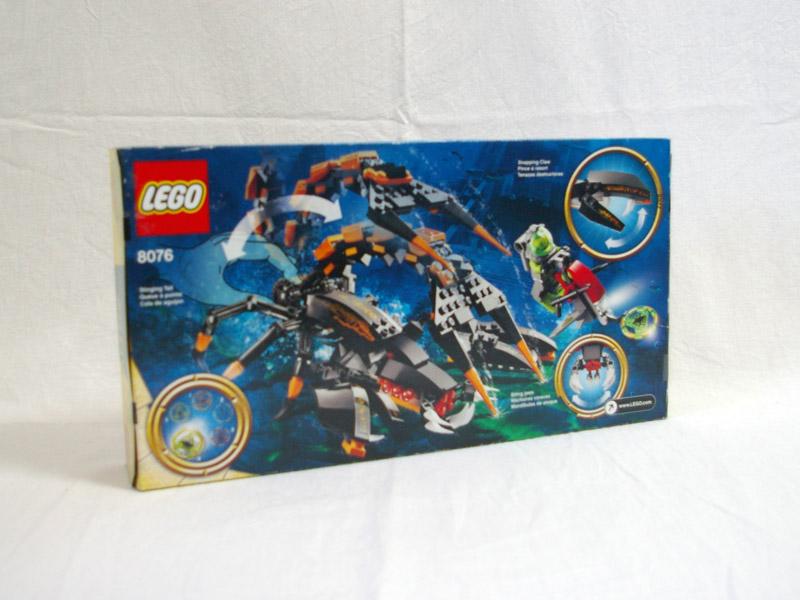 #8076 レゴ ディープ・シー・ストライカー 背面の写真