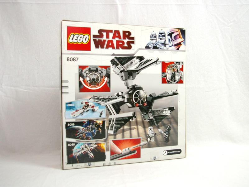 #8087 レゴ TIEディフェンダー 背面の写真