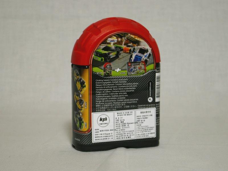 #8119 レゴ サンダー・レーサー 背面の写真