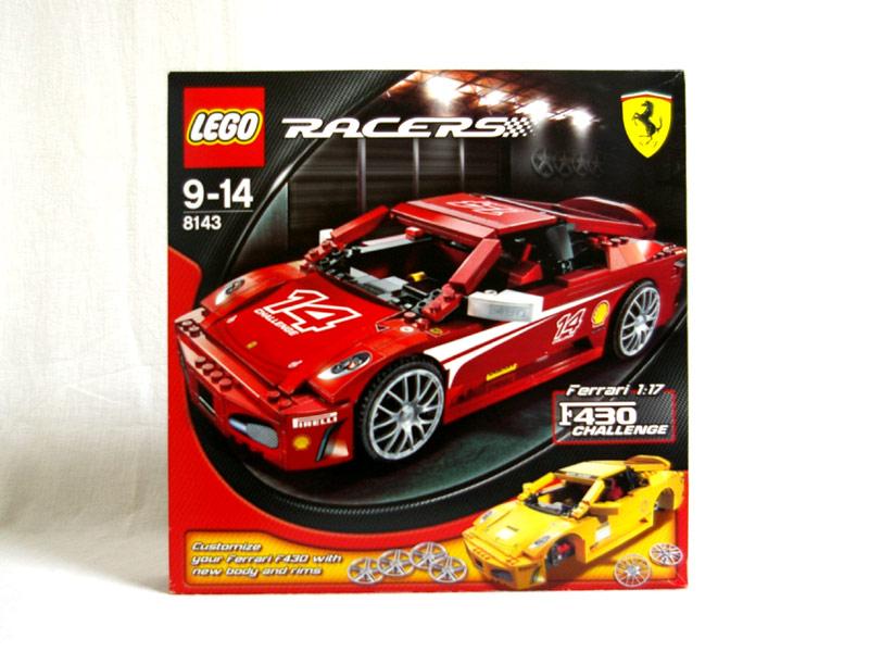 #8143 レゴ フェラーリ F430 チャレンジ