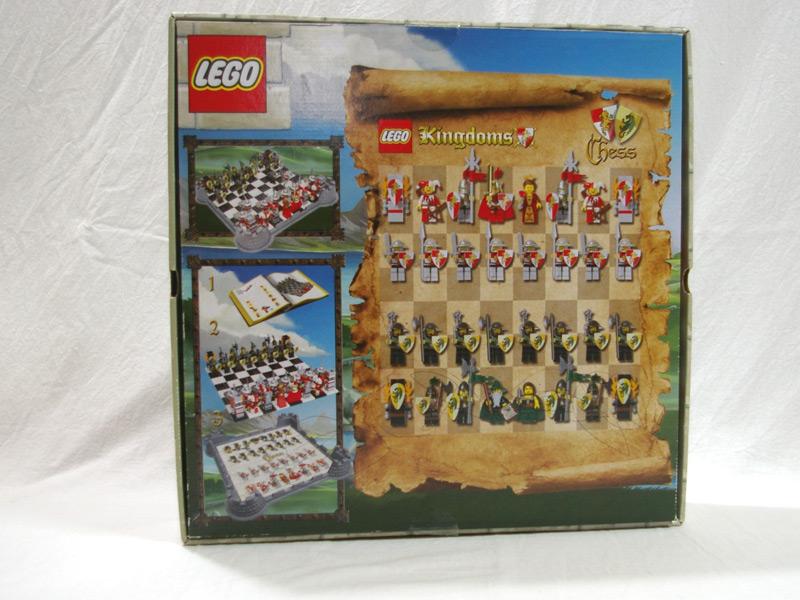 #853373 レゴ キングダムチェスセット 背面の写真