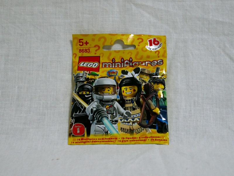 #8683 レゴ ミニフィギュアシリーズ Vol.1