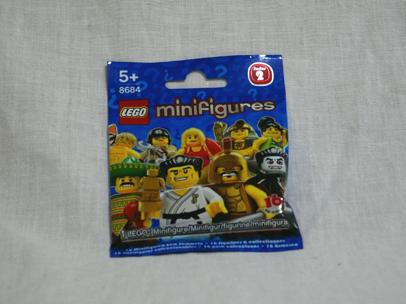 #8684 レゴ ミニフィギュアシリーズ Vol.2