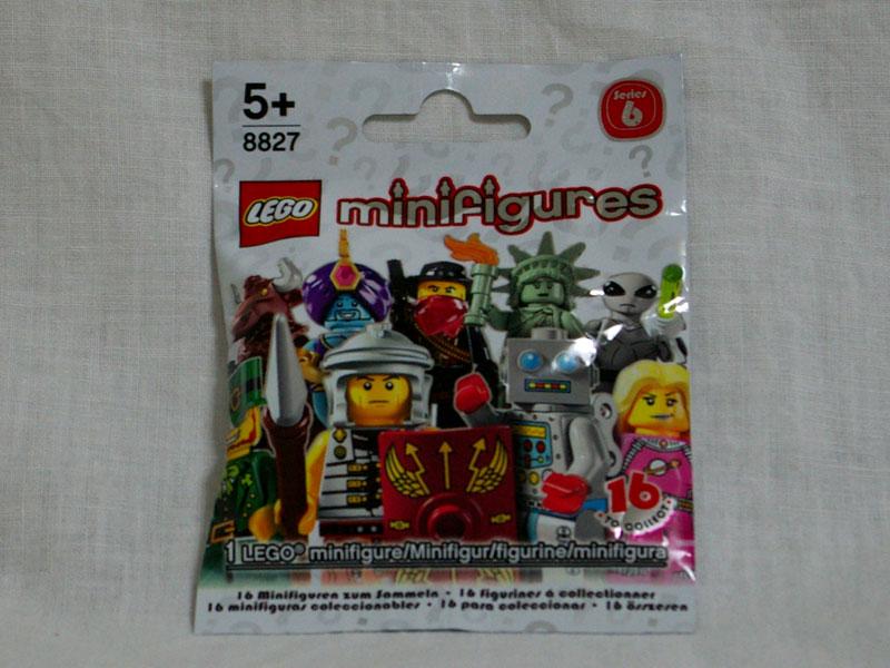 #8827 レゴ ミニフィギュアシリーズ Vol.6 正面の画像