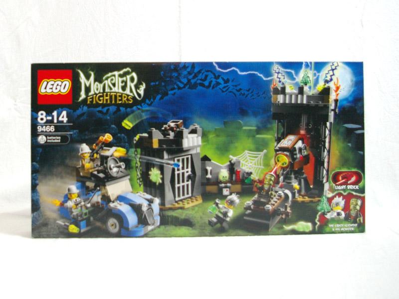 #9466 レゴ 科学者と彼のモンスター