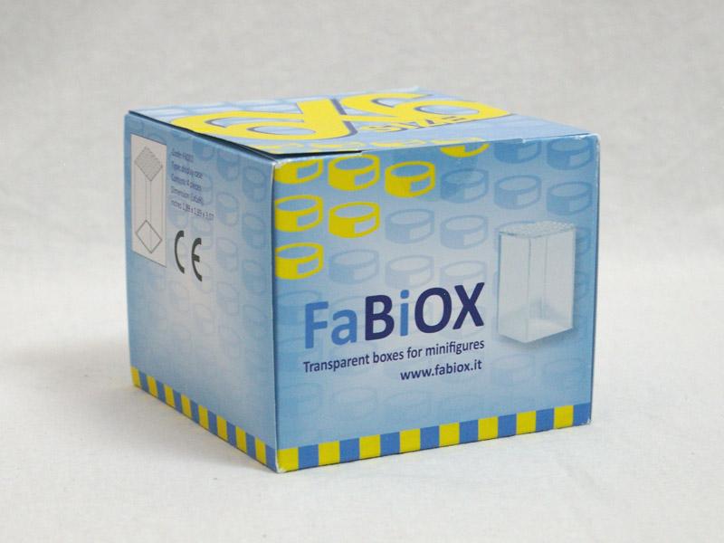 #FBX668 FaBiOX 6x6x8 ミニフィグディスプレイケース 4個入