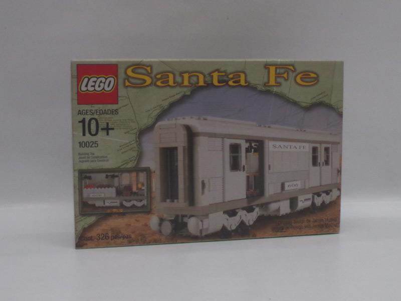 #10025 レゴ サンタフェ客車1