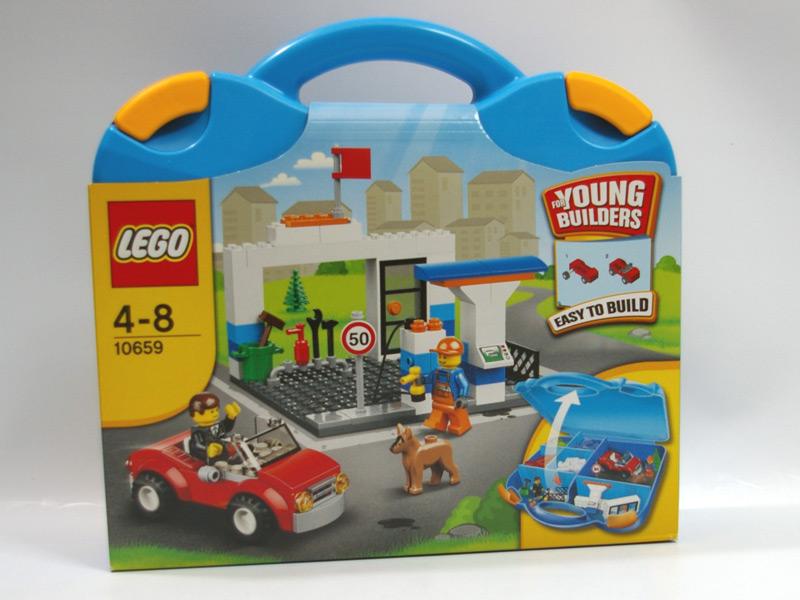 #10659 レゴ 青のスーツケース