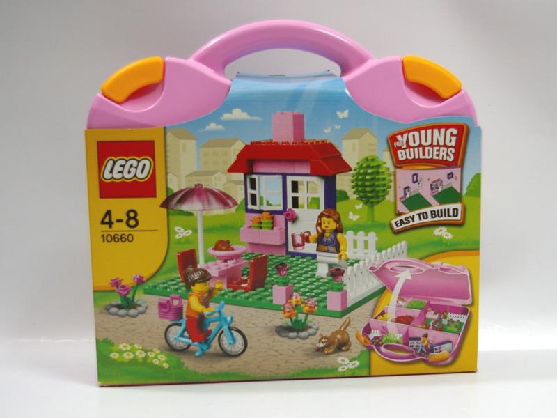 #10660 レゴ ピンクのスーツケース