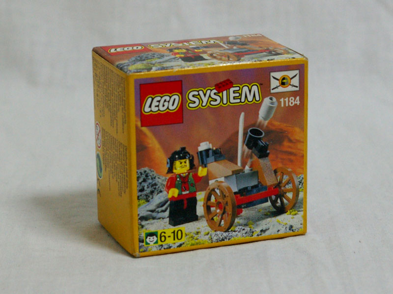 #1184 レゴ おやぶんと大砲