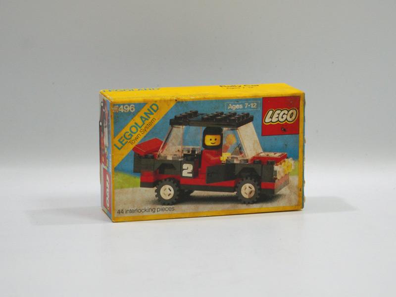 #1496 レゴ ラリーカー