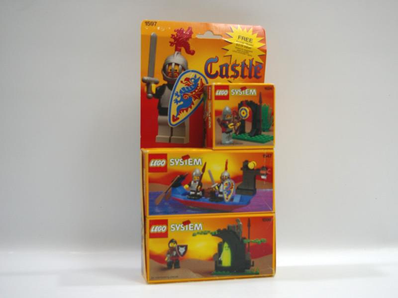 #1597 レゴ お城シリーズ3セットパック