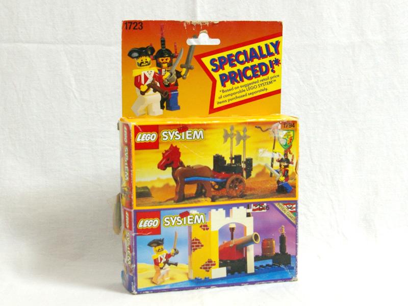 #1723 レゴ コンビパック 南海の勇者シリーズとお城シリーズ