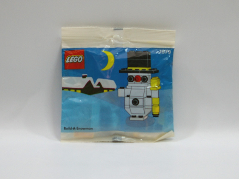 #1979 レゴ 雪だるま