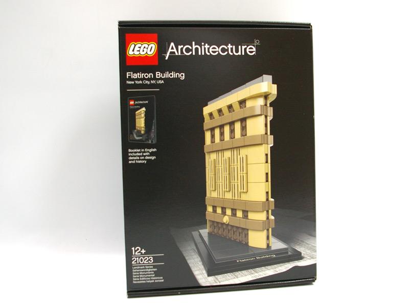 #21023 レゴ フラットアイアンビルディング