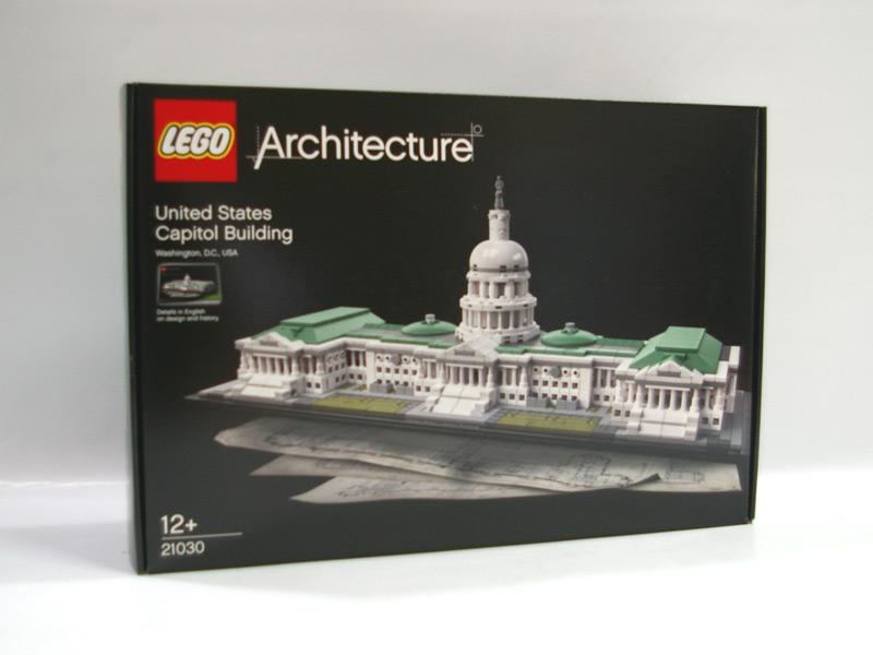 #21030 レゴ アメリカ合衆国議会議事堂