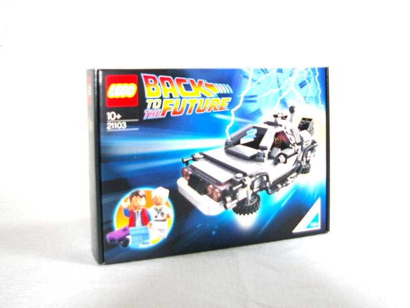 #21103 レゴ デロリアン・タイムマシン