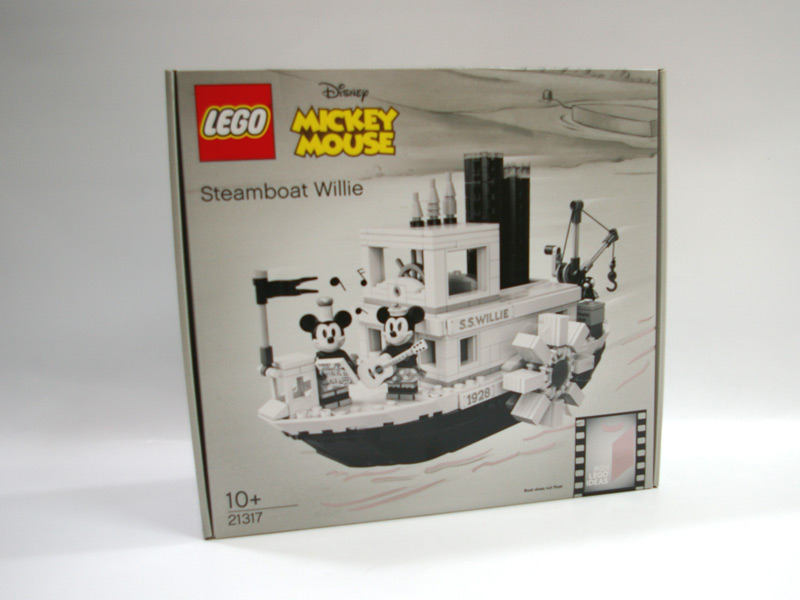 #21317 レゴ 蒸気船ウィリー