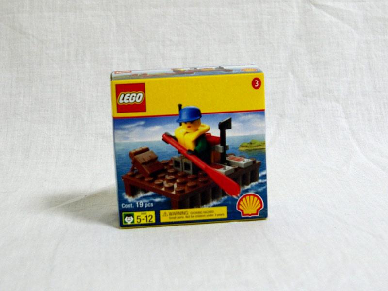 #2537 レゴ いかだ