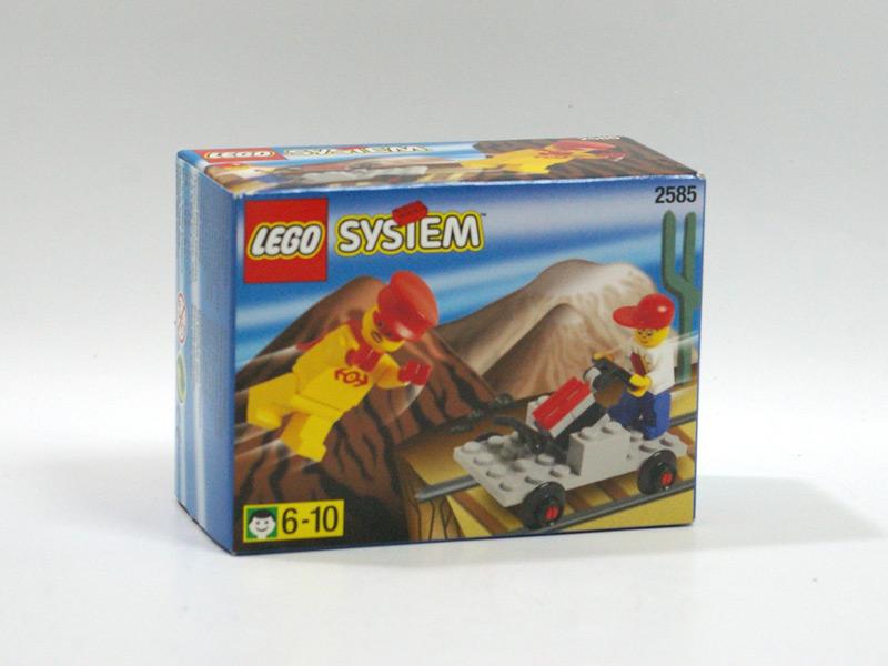 #2585 レゴ 手漕ぎトロッコ