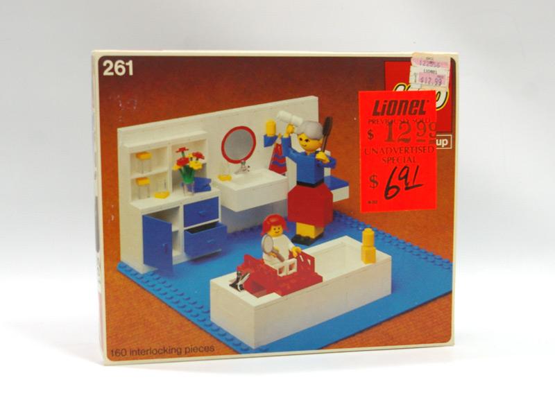 #261 レゴ 人形の家 バスルーム
