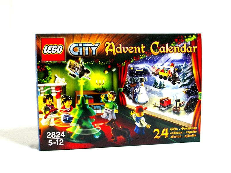 #2824 レゴ シティ アドベントカレンダー2010