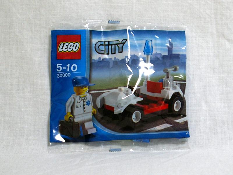 #30000 レゴ ドクターと車