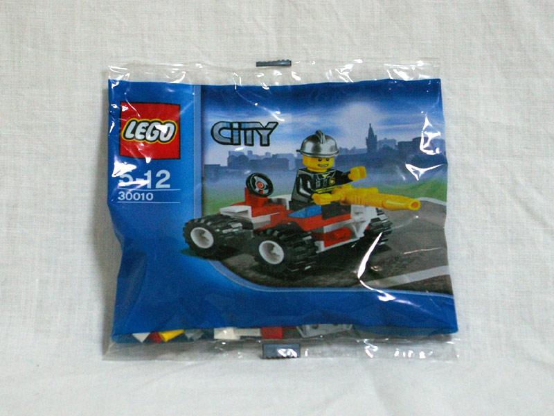 #30010 レゴ 消防士と車