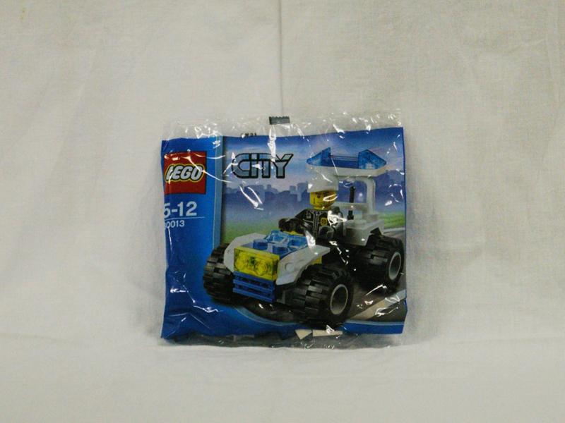 #30013 レゴ ポリス四輪バギー