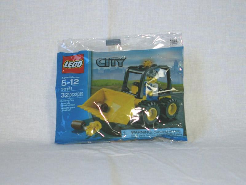 #30151 レゴ 採掘場のブルドーザー