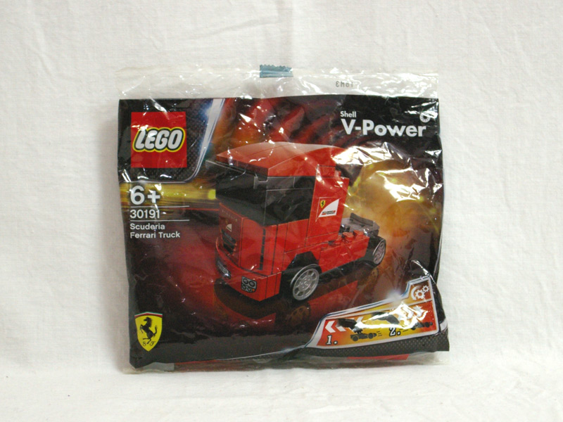 #30191 レゴ スクーデリア・フェラーリ・トラック