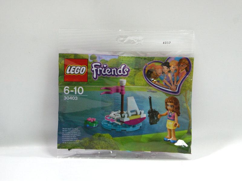 #30403 レゴ オリビアのリモコンボート
