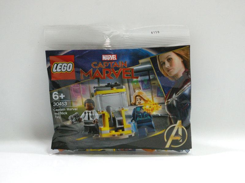#30453 レゴ キャプテンマーベルとニックフューリー