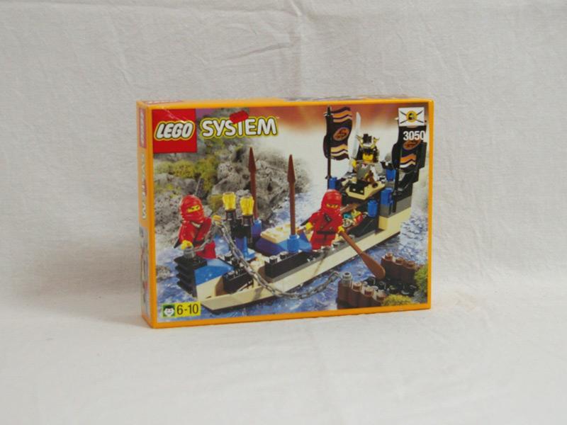 #3050 レゴ 赤ニンジャのボート