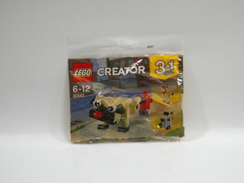 #30542 レゴ かわいいパグ